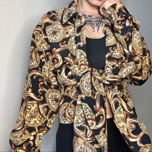 Vintage Baroque Royalty Long Sleeve Long Sleeve
